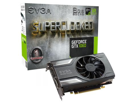 EVGA GeForce GTX 1060 6GB  SC GAMING на супер цени