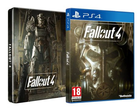Fallout 4 Steelbook Edition (PS4) на супер цени
