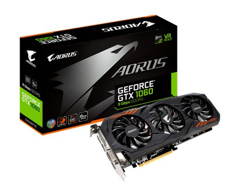 GIGABYTE GeForce GTX 1060 6GB AORUS OC на супер цени