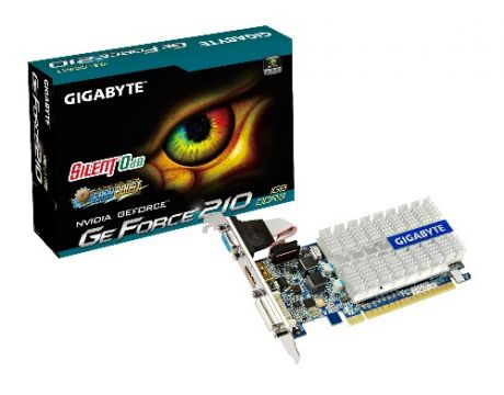 GIGABYTE GeForce GT 210 1GB Low Profile на супер цени