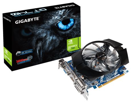 GIGABYTE GeForce GT 740 1GB OC на супер цени