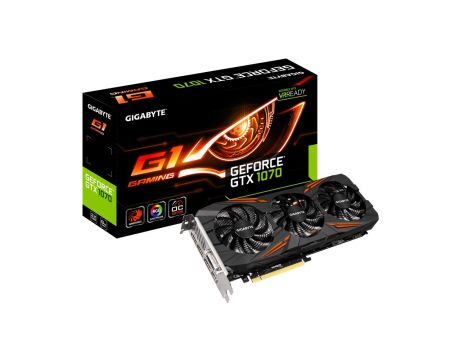 GIGABYTE GeForce GTX 1070 8GB G1 GAMING на супер цени