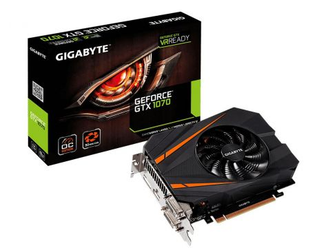 GIGABYTE GeForce GTX 1070 8GB Mini ITX OC на супер цени