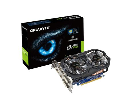 GIGABYTE GeForce GTX 750 Ti 2GB Windforce на супер цени
