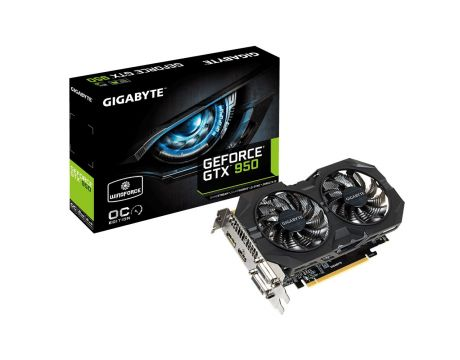 GIGABYTE GeForce GTX 950 2GB OC Windforce на супер цени