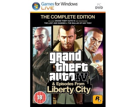Grand Theft Auto IV - Complete (PC) на супер цени
