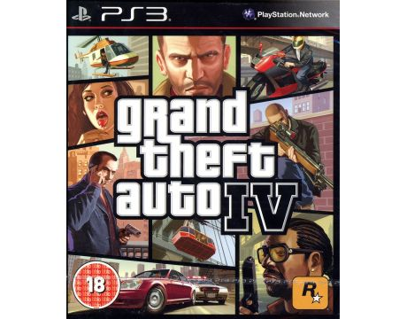 Grand Theft Auto IV (PS3) на супер цени