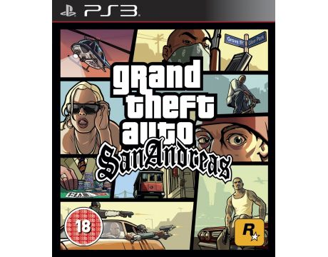 Grand Theft Auto San Andreas (PS3) на супер цени