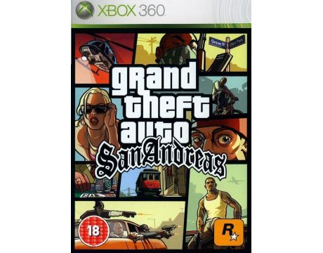 Grand Theft Auto: San Andreas (Xbox 360) на супер цени