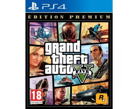 Grand Theft Auto V - Premium Edition (PS4) на супер цени