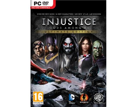 Injustice: Gods Among Us - Ultimate Edition (PC) на супер цени