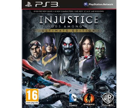 Injustice: Gods Among Us - Ultimate Edition (PS3) на супер цени