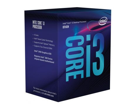 Intel Core i3-8100 (3.60GHz) на супер цени