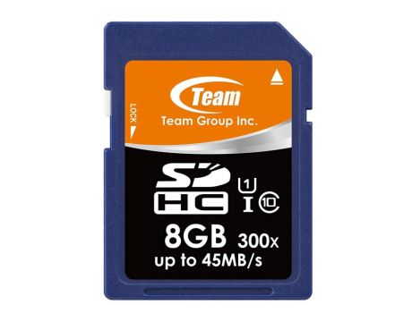 8GB SDHC Team Group, син на супер цени