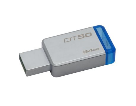 64GB Kingston DataTraveler 50, Сив/син на супер цени