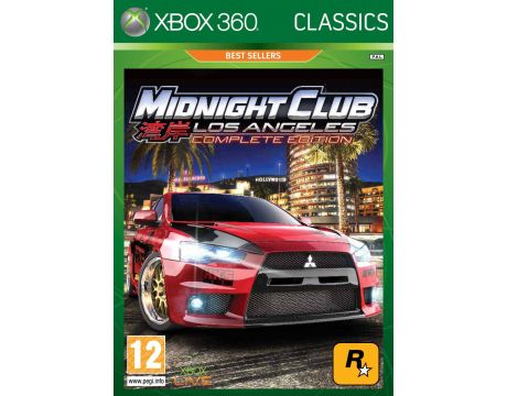 Midnight Club: Los Angeles Complete Edition - Classics (Xbox 360) на супер цени