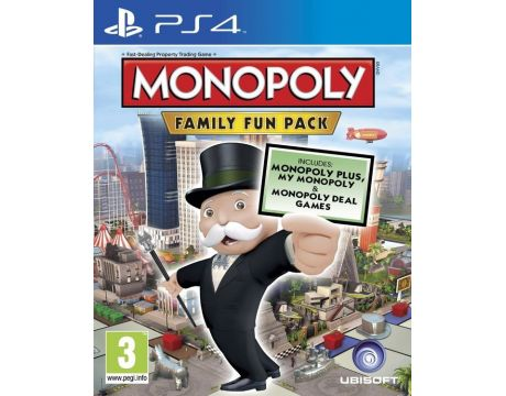 Monopoly Family Fun Pack (PS4) на супер цени