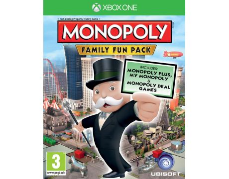 Monopoly Family Fun Pack (Xbox One) на супер цени