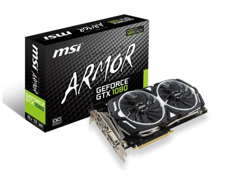 MSI GeForce GTX 1080 8GB ARMOR OC на супер цени