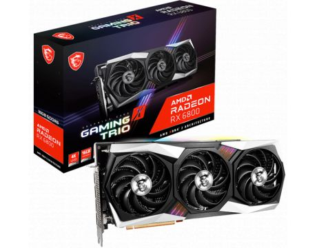 MSI Radeon RX 6800 16GB GAMING X TRIO на супер цени