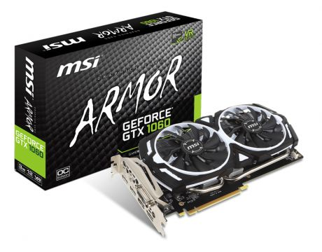 MSI GeForce GTX 1060 3GB ARMOR OCV1 на супер цени