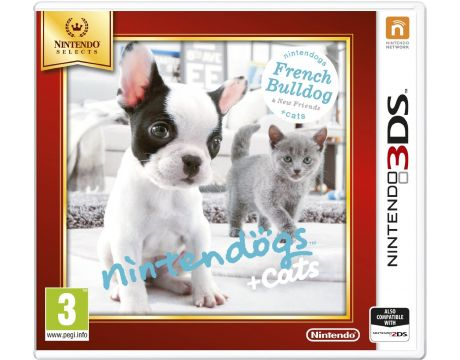 Nintendogs + Cats - French Bulldog (3DS) на супер цени