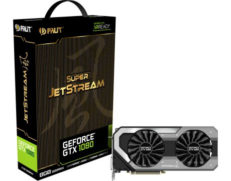Palit GeForce GTX1080 8GB Super JetStream на супер цени