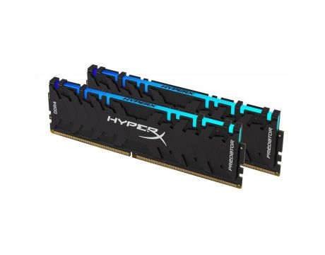 2x8GB DDR4 2933 Kingston HyperX Predator RGB на супер цени
