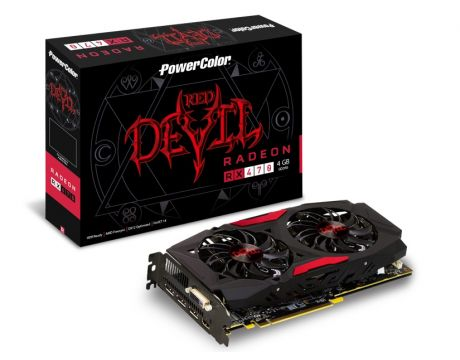 PowerColor Radeon RX 470 4GB RED DEVIL OC на супер цени