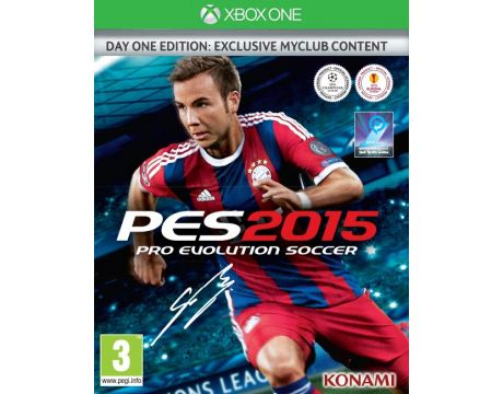 Pro Evolution Soccer 2015 - Day One Edition (Xbox One) на супер цени