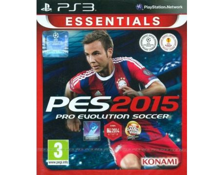 Pro Evolution Soccer 2015 - Essentials (PS3) на супер цени