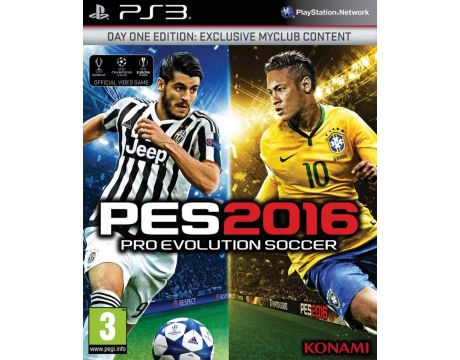 Pro Evolution Soccer 2016 - Day One Edition (PS3) на супер цени