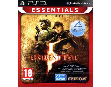 Resident Evil 5 Gold: Move Edition - Essentials (PS3) на супер цени