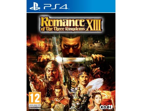 Romance of the Three Kingdoms XIII (PS4) на супер цени
