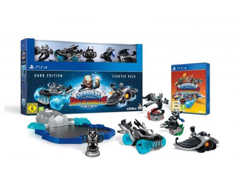 Skylanders SuperChargers - Starter Pack Dark Edition (PS4) на супер цени
