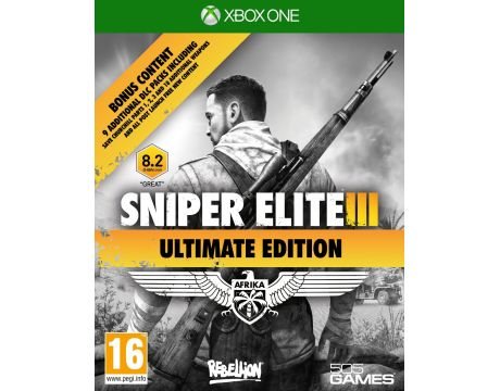 Sniper Elite 3: Ultimate Edition (Xbox One) на супер цени