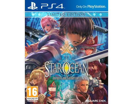Star Ocean: Integrity and Faithlessness - Limited Edition (PS4) на супер цени
