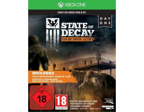 State of Decay: Year-One Survival Edition (Xbox One) на супер цени
