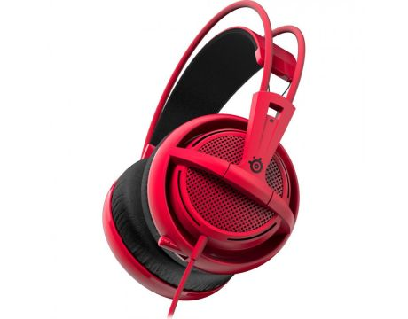 SteelSeries Siberia 200, червен на супер цени