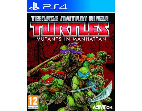 Teenage Mutant Ninja Turtles: Mutants in Manhattan (PS4) на супер цени