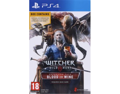 The Witcher 3: Wild Hunt - Blood & Wine (PS4) на супер цени