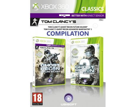 Tom Clancy's Ghost Recon Future Soldier & Advanced Warfighter 2 (Xbox 360) на супер цени