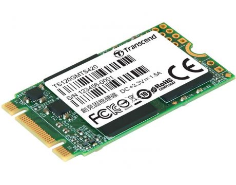 120GB SSD Transcend MTS420 на супер цени