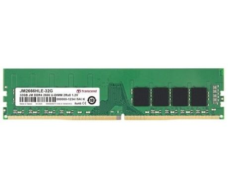 32GB DDR4 2666 Transcend на супер цени