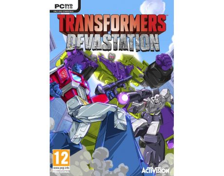 Transformers: Devastation (PC) на супер цени