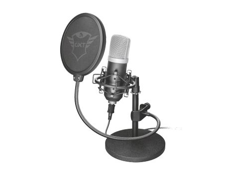 Trust GXT 252 Emita Streaming Microphone, черен на супер цени