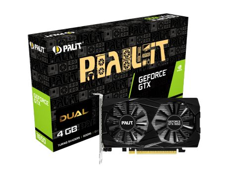 Palit GeForce GTX 1650 4GB Dual на супер цени