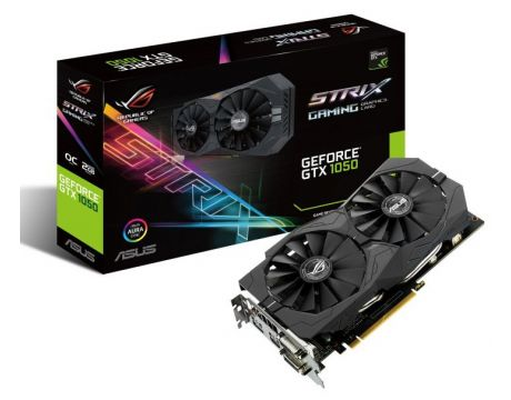 ASUS GeForce GTX 1050 2GB STRIX GAMING на супер цени