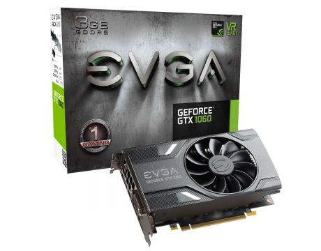 EVGA GeForce GTX 1060 3GB GAMING на супер цени