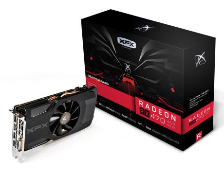 XFX Radeon RX 470 4GB Single Fan Triple X на супер цени